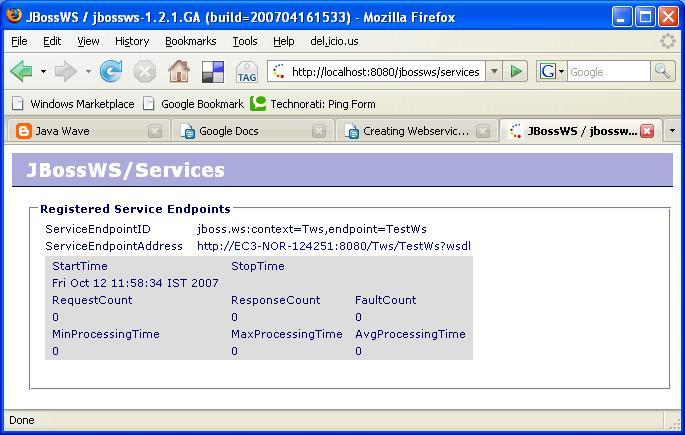 Create Stubs Wsdl Java