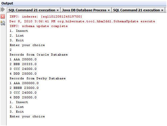 Configuring Multiple Databases in Hibernate