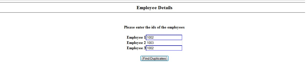 Finding Duplicate Input Elements Using jQuery