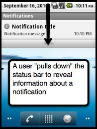 how to create notification in android