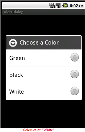 how to know if radio button is checked
