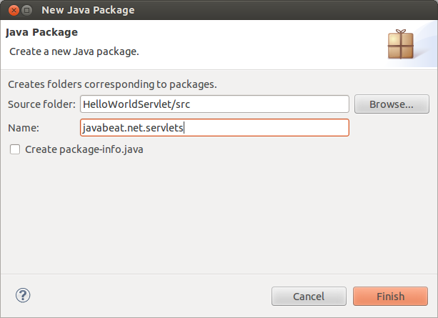 servlet life cycle new java package example