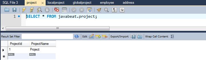 TablePerConcreteProjectRecord