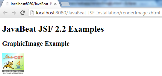 JSF 2 GraphicImage Example 2