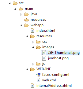 JSF 2 OutputLink Example 1