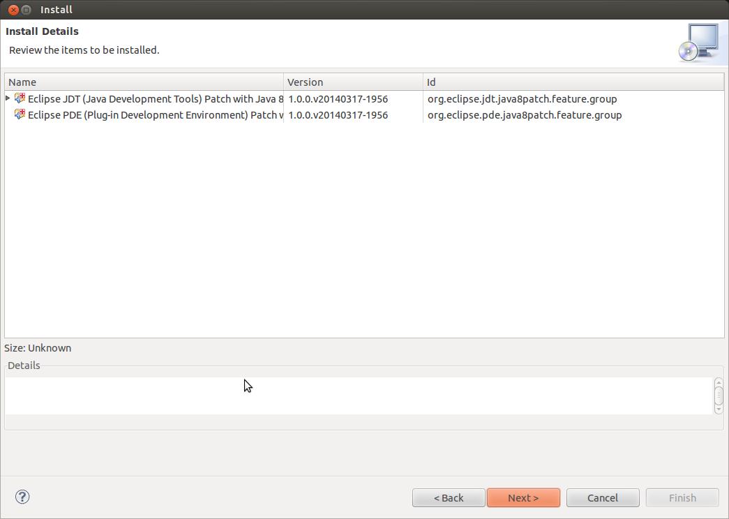 Eclipse Java 8 Support 3