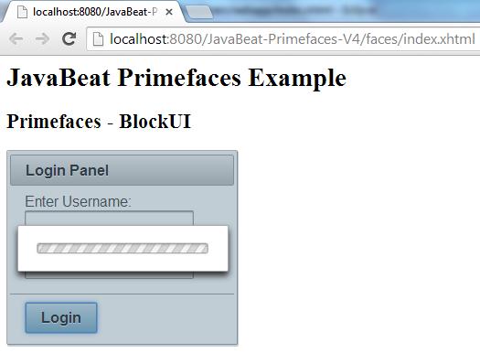 BlockUI Example