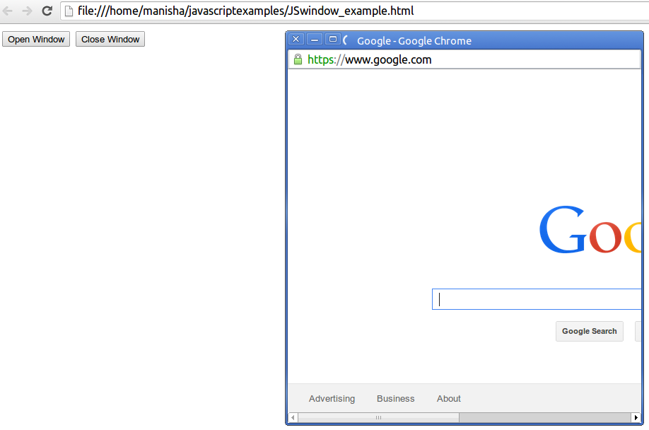 JavaScript Window Object