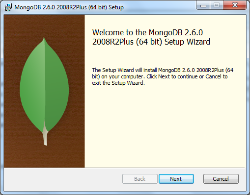 MongoDB Installation First Step