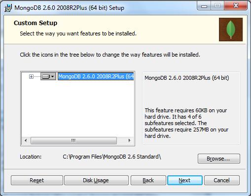 MongoDB Installation Forth Step