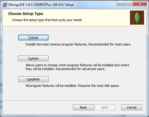 MongoDB Installation Third Step