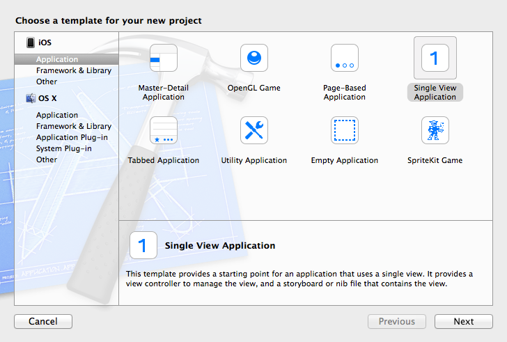 Create XCode Project