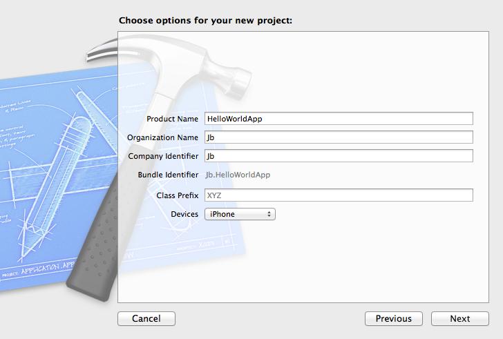 XCode Options