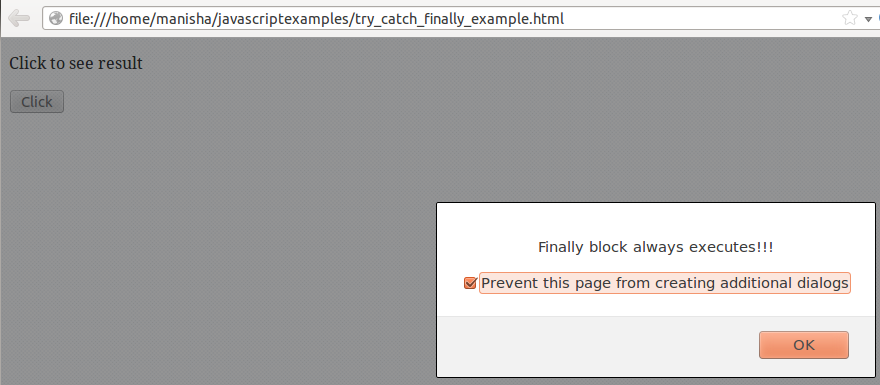 JavaScript Error Handling 3