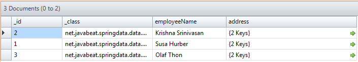 Database employee records