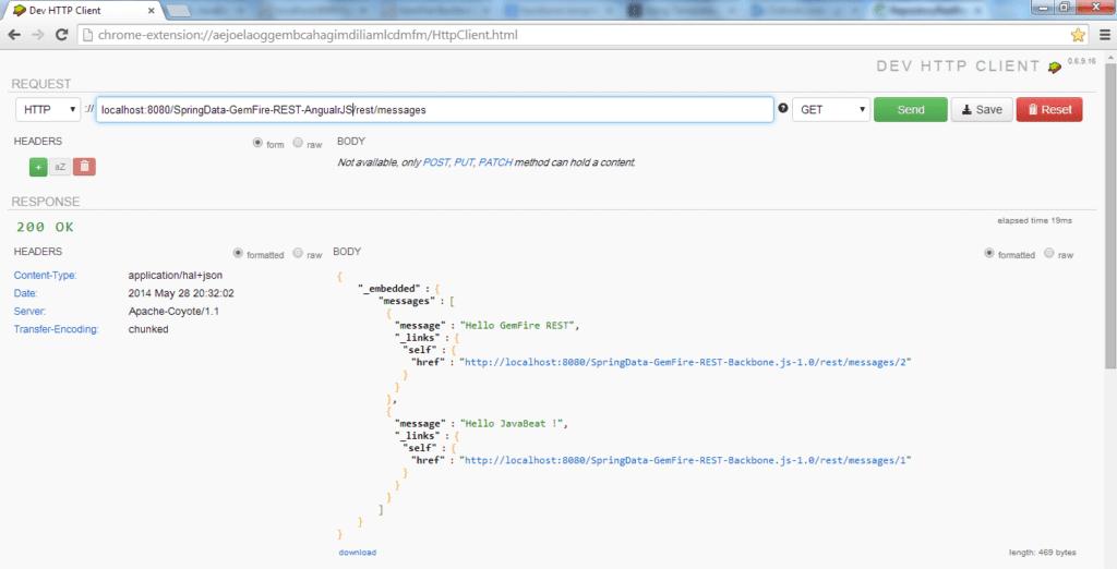 Spring Data REST AngularJS Demo