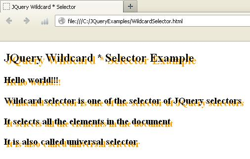 JQuery Wildcard Selector