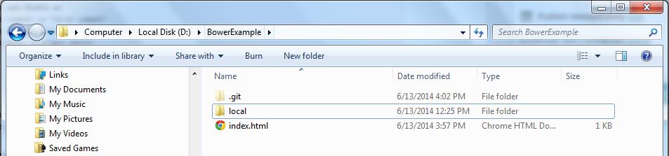 Create Git Folder