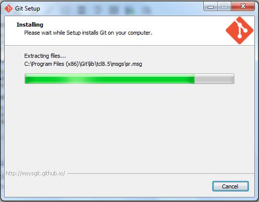 Git - Installing
