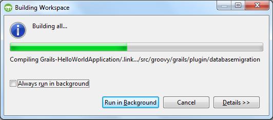 Grails - Building Application