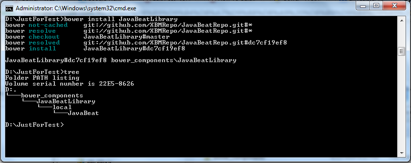 Install Registered Library