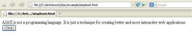 JQuery AjaxSetup Example1