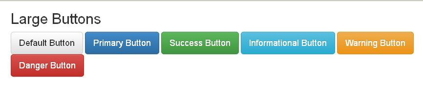 Large Buttons Example