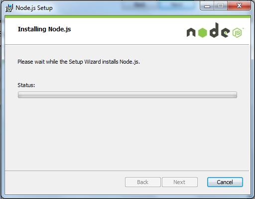 Node - Installing