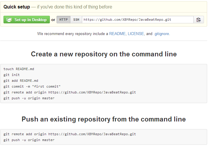Repository Information