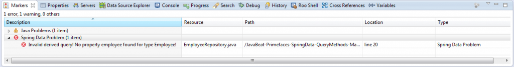 Spring Data JPA : Custom Repository / Query Methods Example
