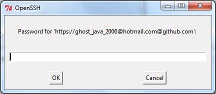 Git password