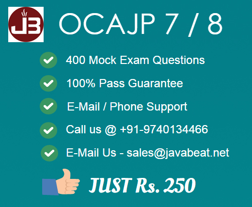 Scjp Exam Questions And Answers Pdf