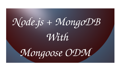 how to connect mongodb with node js