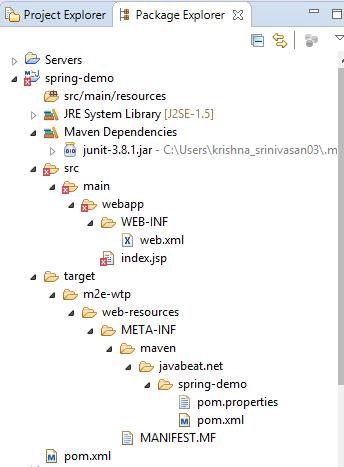 Maven Folder Structure