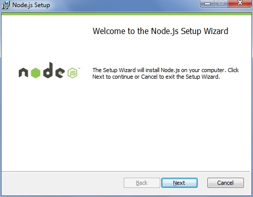 Install Node.js in Windows