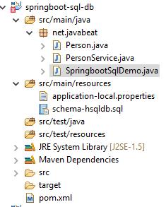 Spring Boot SQL Databases