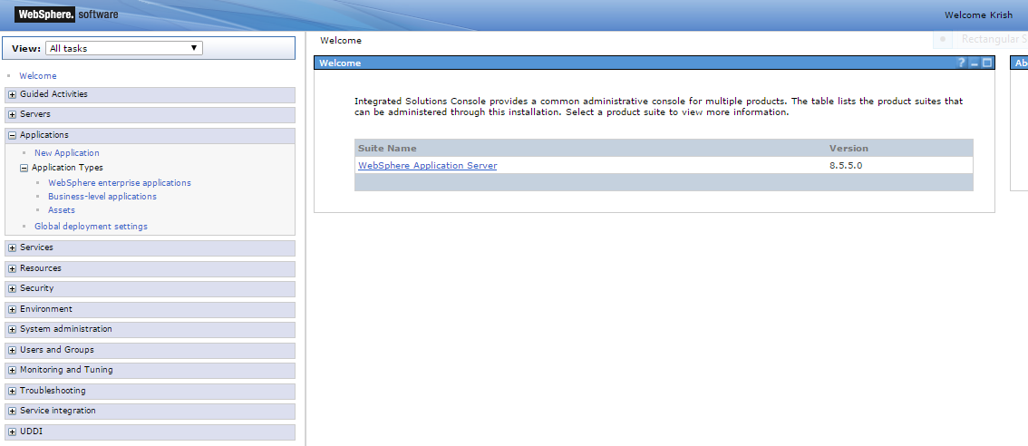 1-websphere-admin-console