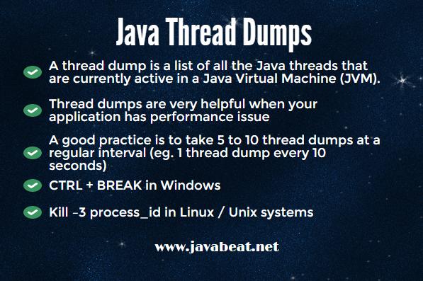 Java Thread Dumps
