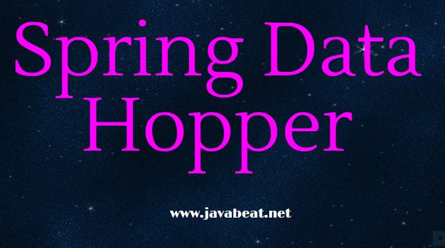 Spring Data Hopper Release
