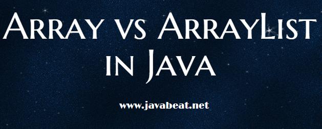Array vs ArrayList