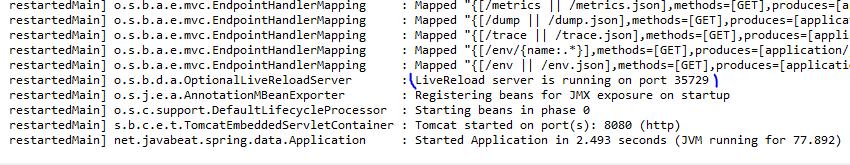Spring Boot LiveReload Server
