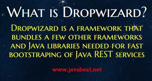 What is Dropwizard
