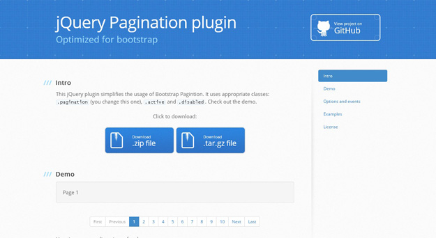 8 Lightweight jQuery Plugins for Pagination