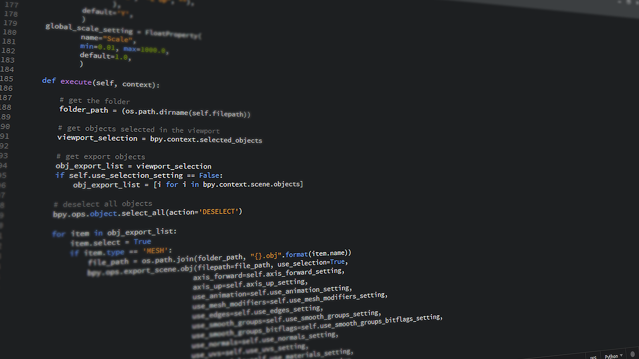 Python programming codes